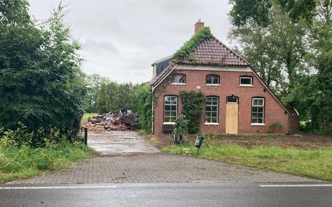 Eigenaar van afgebrande boerderij in Peize kort geleden overleden: 'Zaterdag is de makelaar geweest om foto's te maken, zondag was alles weg'