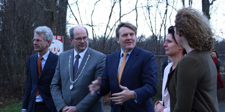 Koning Willem-Alexander bezoekt Elim