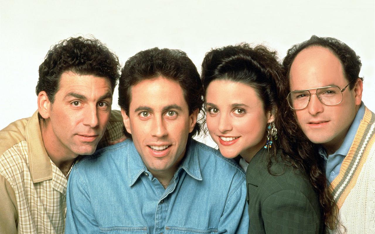 De serie Seinfeld draait rond stand-upcomedian Jerry Seinfeld en zijn vrienden Elaine Benes, George Constanza en Cosmo Kramer.