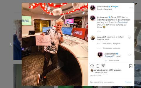 DJ Jordi Warners uit Emmen gaat radioprogramma Qmusic een uur lang in het Drents presenteren