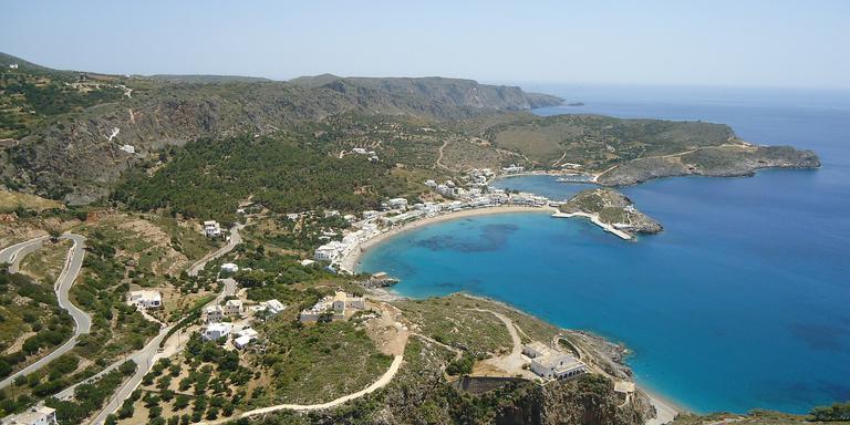 Het Griekse eiland Kythira