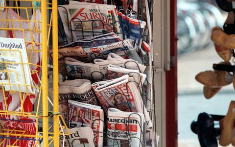 Geen buitenlandse kranten meer in Groningen en Drenthe te koop
