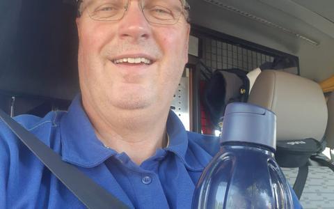 ANWB-medewerker Martin Doldersum: 'Een paraplu kan met dit weer geen kwaad'