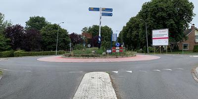 De Europaweg in Schoonebeek.