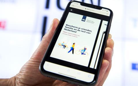 De app CoronaMelder is beschikbaar, maar werkt niet op oude telefoons