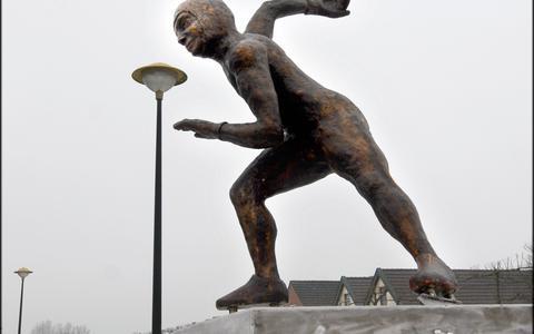 Verzekeringsgeld voor beeld Scheuvelloper in Scheemda