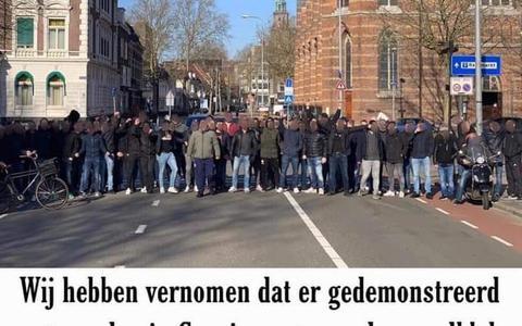 Hooligans bieden steun aan bij voorkomen avondklokrellen. Groningen bedankt vriendelijk: 'Ook voor hen geldt de avondklok'
