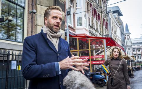 Demissionair minister Hugo de Jonge (VWS).
