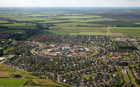 Kloosterveen, in het midden Kloosterveste.