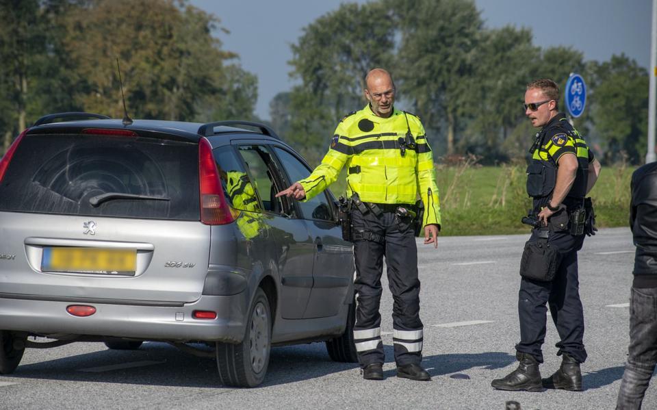 Fietser gewond door aanrijding bij Zoutkamp.