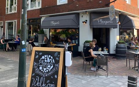 Plezierig buurten bij dinercafé Plezant in Groningen   buiten de deur