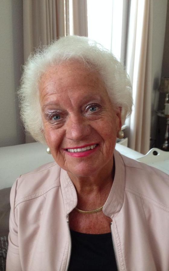 Leidi van der Veen, voormalig weervrouw uit Veenoord.