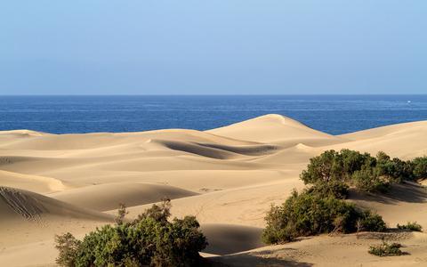 Zandduinen van Gran Canaria