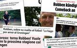 Comeback des Superstars: terugkeer Arjen Robben bij FC Groningen gaat de hele wereld over