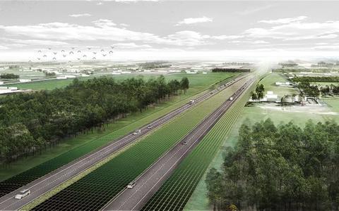 Dit wordt de zonneroute: 40 kilometer zonnepanelen langs de A37 tussen Hoogeveen en de Duitse grens