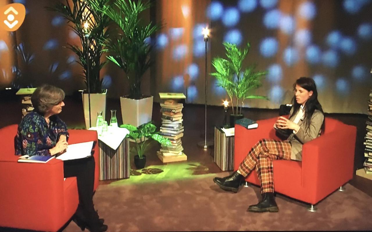 Eva Meijer ging na haar lezing in DNK in Assen in gesprek met Annette Timmer.