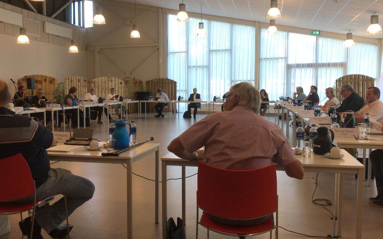 De gemeenteraad van Pekela in vergadering in MFC De Binding