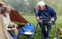 Niet eerder zat Floortje Dessing zo lang thuis. Ze vierde haar 50ste verjaardag (en had tijd voor haar eigen camping in Drenthe)