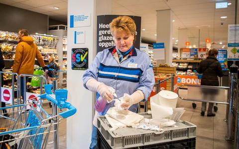 Hoe doe je veilig boodschappen in de supermarkt in tijden van corona? Het is een hel vol boobytraps