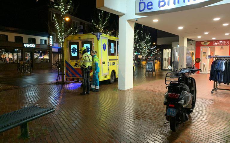 Scooterrijder gewond bij aanrijding met lijnbus in Haren.