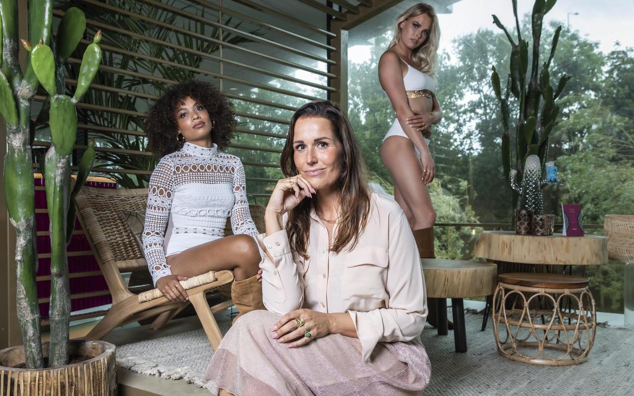 Janneke Schellekens zette een nieuw lingeriemerk op: Pavone.