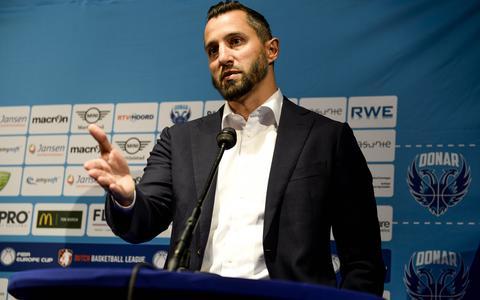 Donar-coach Matthew Otten.