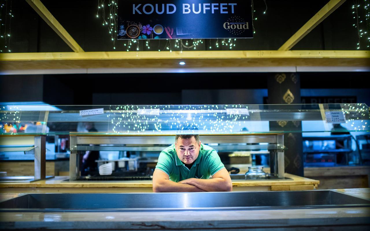 Thishiou Hu van restaurant Goud in  Stadskanaal: ,,Dit is zeer frustrerend.''