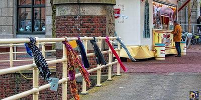 Sjaals in Leeuwarden. Foto: Suksawat