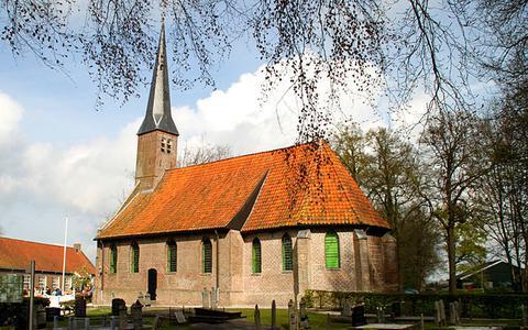 De Hervormde kerk van Nijeveen, ook Sint-Barbarakerk.