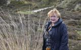 Een cranberryveldje bij de Ooster Vallei op Vlieland is een van de favoriete plekjes van Tineke Schokker.