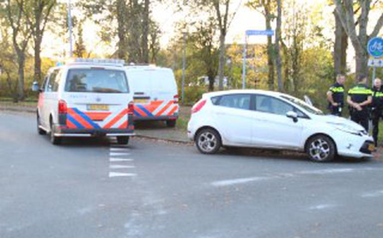 Ongeval op Groenkampen in Assen.