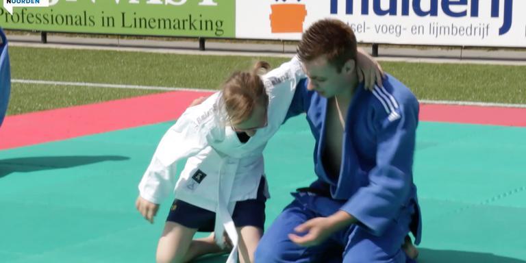Sportdag voor leerlingen met een beperking.