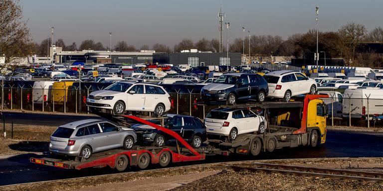 Autobedrijf Pon in Leusden kocht in 2016 strafvervolging wegens corruptie af voor 12 miljoen euro. Foto Archief ANP/Jerry Lampen