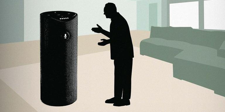 Niet alle klanten willen of kunnen mee in de digitalisering. Illustratie Odilo Girod