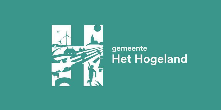 Het nieuwe logo van de fusiegemeente Het Hogeland. Foto archief DvhN