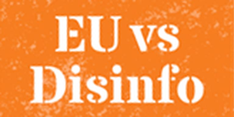 Logo van EU vs Disinfo