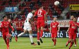 FC Groningen-speler Ahmed El Messaoudi scoort 2-1 tijdens de wedstrijd tussen FC Twente en FC Groningen.