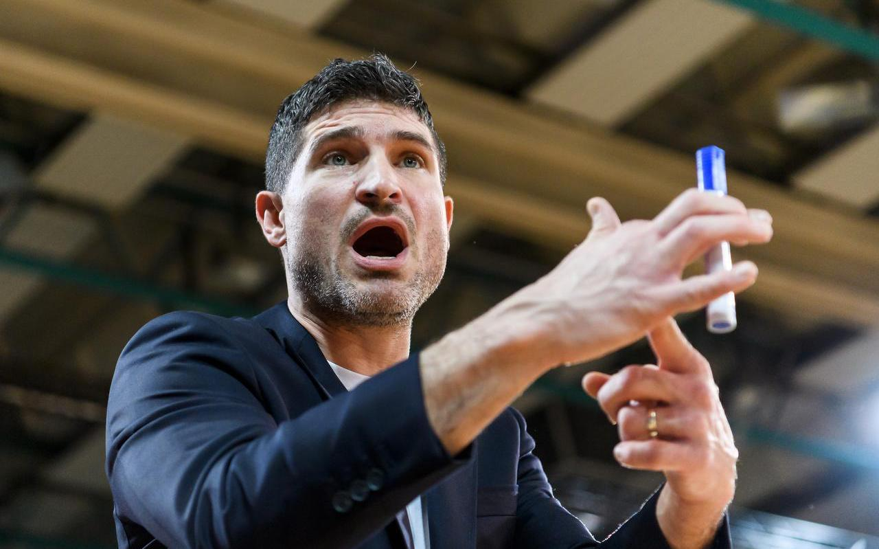 Coach Ivan Rudez van Donar: ,,Wie dit heeft bedacht, heeft geen idee wat topsport inhoudt.''