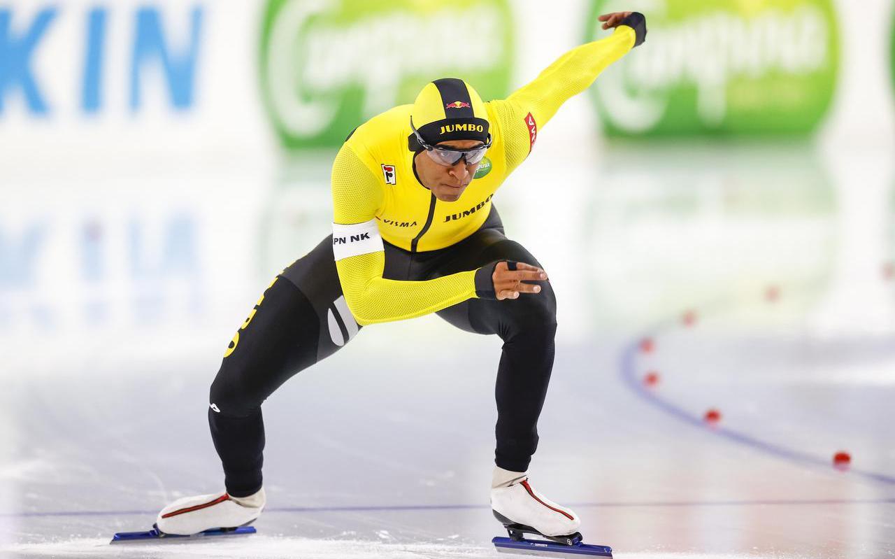 Dai Dai N'tab ziet zichzelf niet als de grote favoriet op het NK sprint.