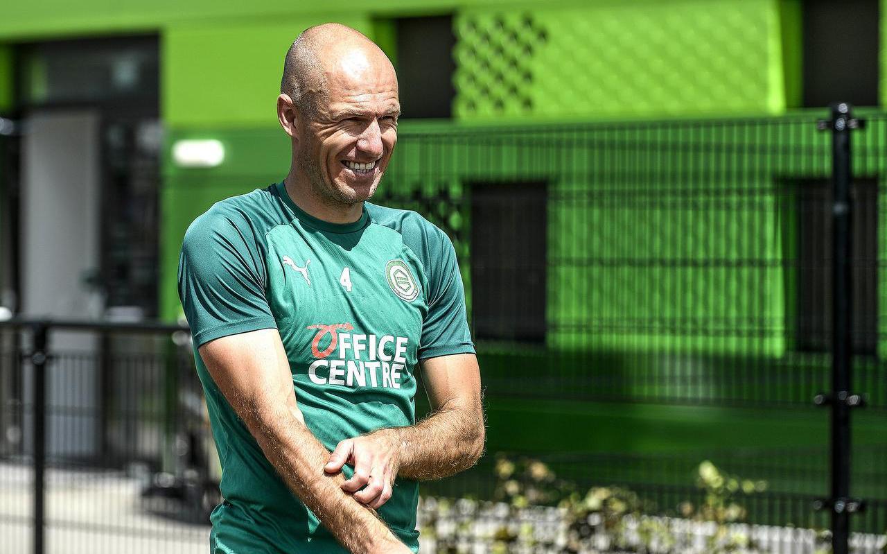 Arjen Robben heeft zijn twijfels, maar geeft de moed nog niet op.