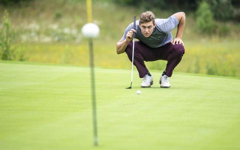 Het jaar van de waarheid voor golfer Roelof Koopmans