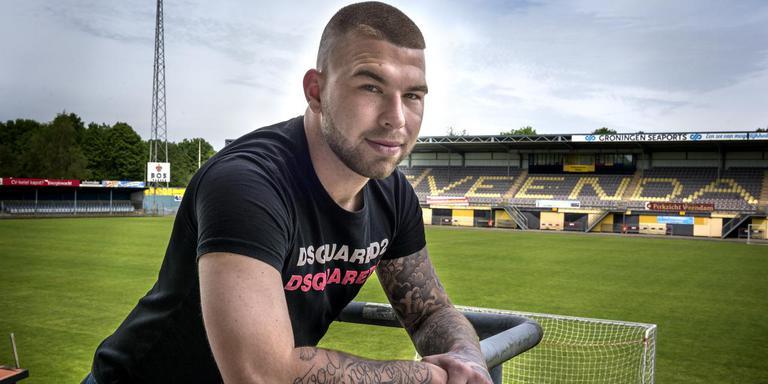 Matthijs Hensens had een assist, maar maakte ook een eigen doelpunt. Foto: DvhN