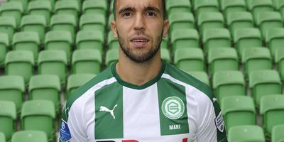 Mimoun Mahi is terug in de basis bij FC Groningen. Foto archief DvhN