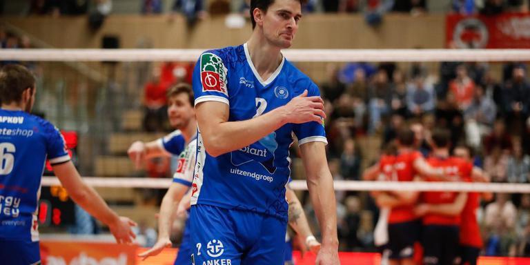 Hoewel het buitenland lonkte, blijft Wytze Kooistra toch nog een jaar voor Lycurgus volleyballen.