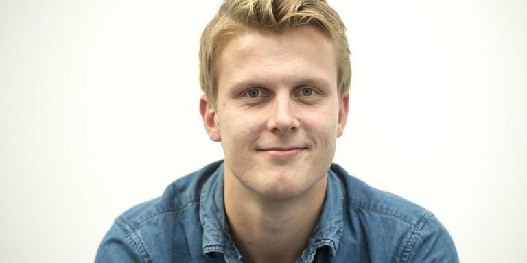 Sportverslaggever Ernst Slagter. Foto DvhN