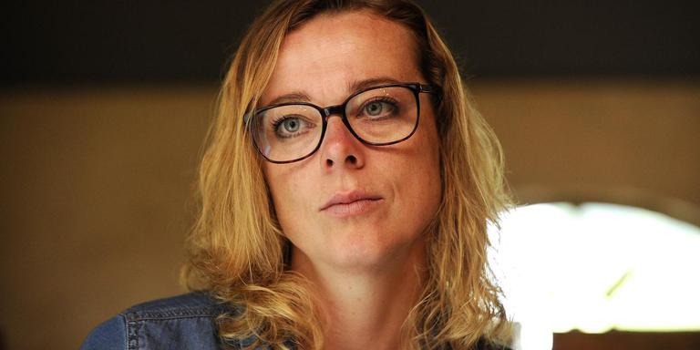 Schaatsster Marije Joling. Foto Jan Kanning