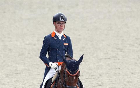 Adelinde Cornelissen (Beilen), Emmelie Scholtens (Onnen) en Marten Luiten (Winschoten) presteren goed op dressuurwedstrijden in Exloo