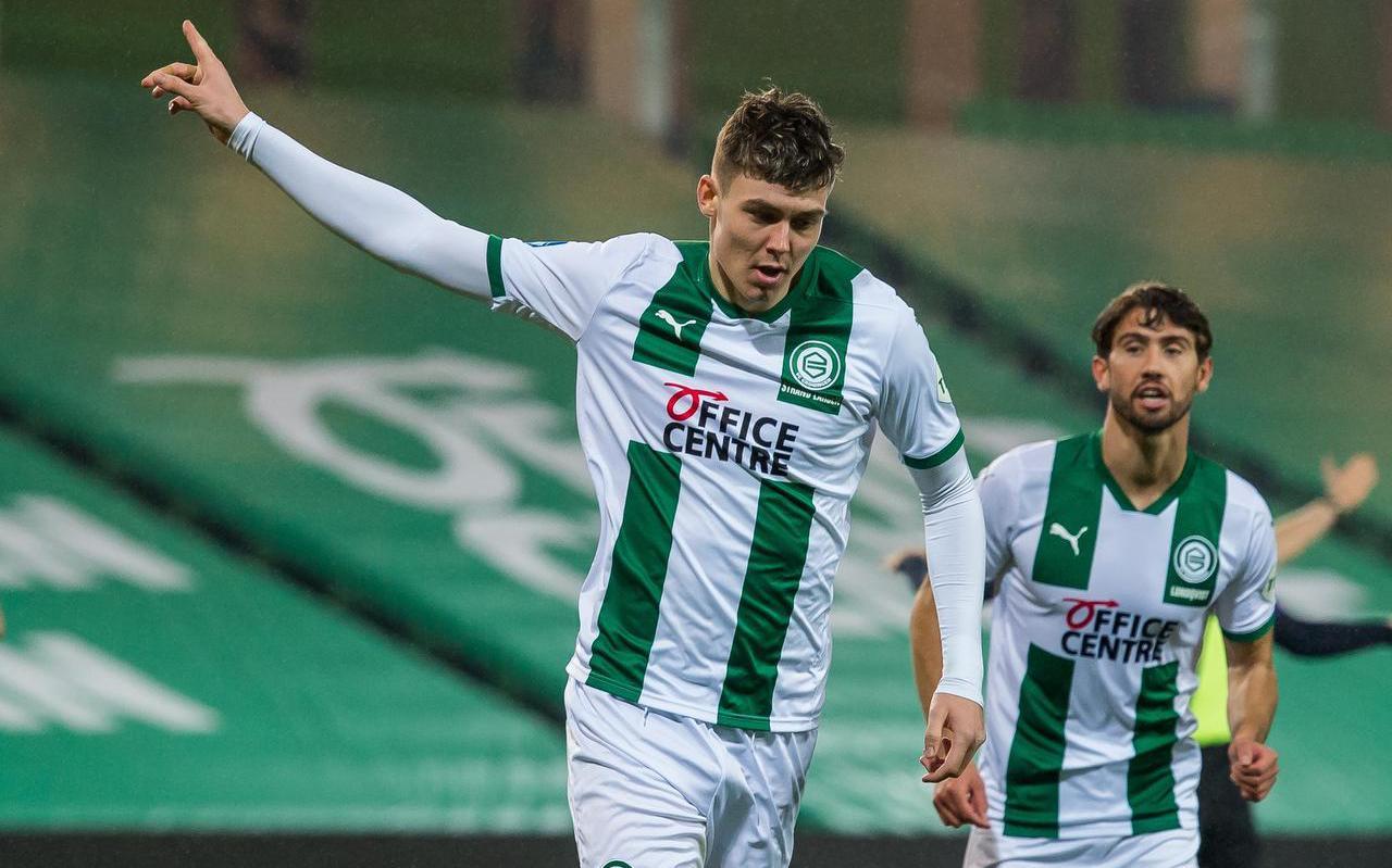 Voordat Jørgen Strand Larsen terugkeert naar Groningen, maakt hij als kersvers A-international een tussenstop in Oostenrijk