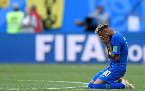 Neymar in tranen na late overwinning Brazilië