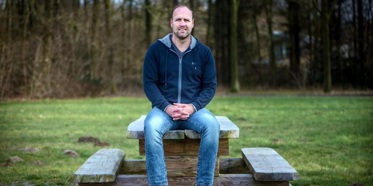 FC Emmen-trainer Dick Lukkien: geen carte blanche, maar wel een belangrijke stem. Foto archief Corné Sparidaens